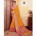 Rachna Banarasi Silk Suhagan Catalog Saree Set For Woman 3