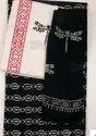 Black & White Ladies Cotton Suit
