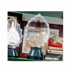 Printed Glass Acrylic Trophies, for School