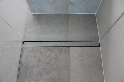Invisible Shower Drain Channel