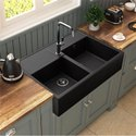 Double Quarts Kitchen Sink, Size: 28*20