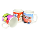 Cartoon Printed Sublimation Mugs