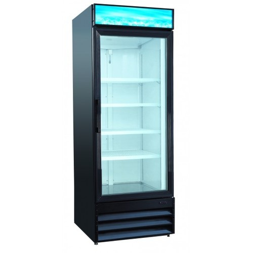 Plastic And Polyfoam Single Glass Door Refrigerator Capacity 320 L