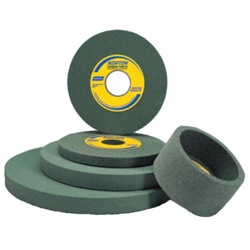 Green Silicon Carbide Grinding Wheels, Heavy Duty Work And Light Grinding