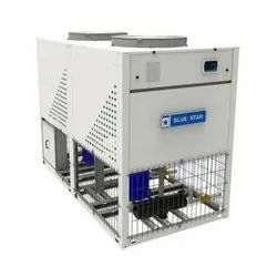 Automatic Blue Star Air Cooled Scroll Chiller, 380-420v/3ph,50hz Ac, 10 TR