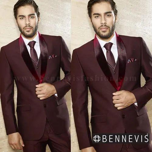 fcdb258b7 Designer Suit - Blue Terry Rayon Men's Designer Suit Manufacturer ...