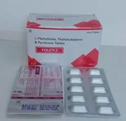 L-Methylfolate 1mg, Methylcobalamin 1500mcg, Pyrodoxine 30mg