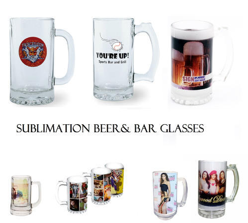 photograph regarding Printable Mugs called Frosted Apparent Sublimation Printable Beer Mugs