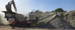 250 TPH Track Mounted Mobile Crusher Plant