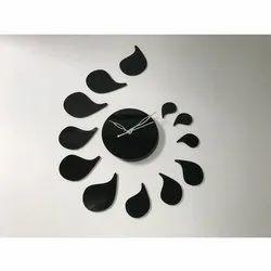 Raama Analog Decorative Acrylic Wall Clock