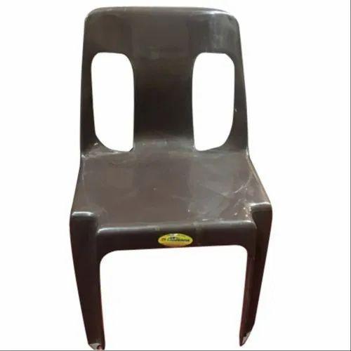 PVC Brown Restaurant Plastic Chair