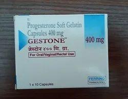 Gestone 400 Mg Capsules, Packaging Type: Strip