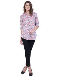 Printed Ladies Long Top