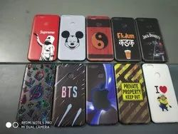 PC TPU Printed Mobile Back Cover
