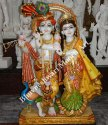 Marble Radha Krishna With Beautiful Faces