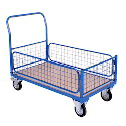 H.D Box Type Trolley on 4 Wheels