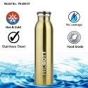 Probott Stainless Steel Double Wall Vacuum Flask Milky Sports Bottle 600ml PB 600-07
