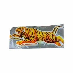 PVC Car Sticker, Packaging Type: Packet
