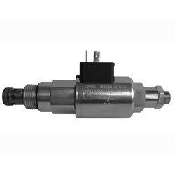 Pressure Relief Valve, Solenoid-Operated, Spool-Type, Piloted