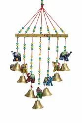 Tapestries Multicolor Bamboo hangings, For Decoration, Size: 20.5 X 2 X 44 Cm