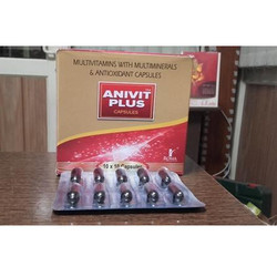 Multivitamin With Minerals & Amp; Antioxidants Capsule