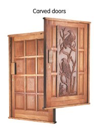 Carved Wood Door, For Home