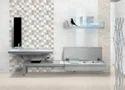 Zirve Grey Square Decor-300 X 450 Mm Tile