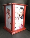 Sublimation / Photo Insert Static Wooden Led Lamp For Home