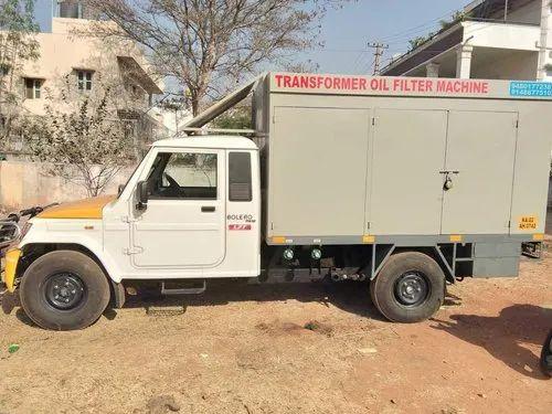 Transformer Oil Filtration Machine Installation Service