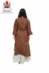 Muscari Cotton Ladies Suits, Handwash, Size: L To Xxxl
