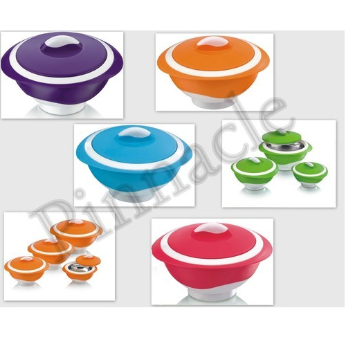Multicolor Pinnacle Insulated Thermal Casserole