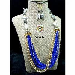 Crystal Loreal Beads Imitation Jewelry Fashion Necklace