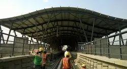 Metro Station Construction Service