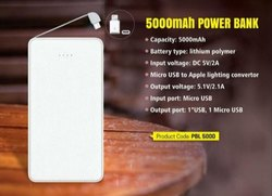 Wemake ABS 5000 Mah Power Bank