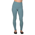Ladies Grey Cotton Lycra Leggings
