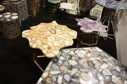 Yellow Agate Table