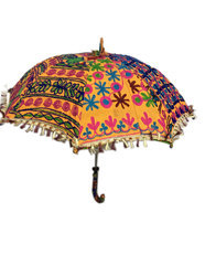 Umbrella With Handmade Embroidery