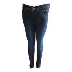 Slim Stretchable Ladies Ankle Length Jeans