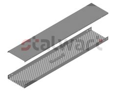 Perforated Cable Tray With Cover