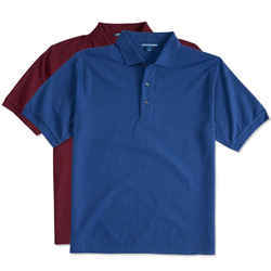 Mens Cotton Collar Polo T-Shirt