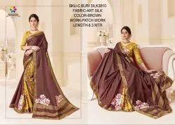 Rachna Art Silk Patch C-Buri Silk Catalog Saree For Women 9