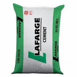 PPC (Pozzolana Portland Cement) 50 Kg Lafarge Cement, Packaging Type: PP Sack Bag, Cement Grade: Grade 43