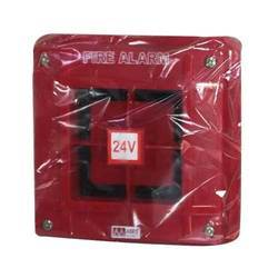 Red Electric Fire Alarm