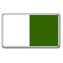 White Green Board
