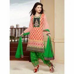 Multicolor Salwar Ladies Suit