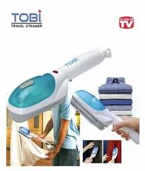 Blue and White TOBI Travel Steam Iron, Packaging Type: Carton Box, for Home