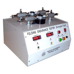 Schopper Type Folding Endurance Tester, Model: PAP- 2074 B
