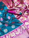 Katan Silk Designer Party Wear Saree