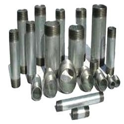 Gi Pipe Bspt And Npt Galvanized Iron Pipe Nipple, 0.5, for Gas Pipe