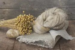 Natural Flax Fibre and Hemp Fibre for Spinning, Packaging Type: Loose